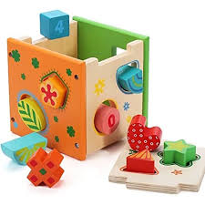 Timy Shape Stacker <b>Wooden Educational Toys</b> Shape <b>Color</b> ...