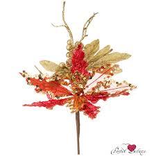 <b>Искусственное растение Lefard</b> Пуатенсия Китай 35 см Текстиль