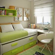 l astonishing small bedroom ideas with single bed equipped storage drawers and white finish solid wood small desk plus glazed white plastic chair using bedroomastonishing solid wood office