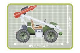 <b>Конструктор COBI Ракетный автомобиль</b> - COBI-2156 купить в ...