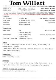 Aaaaeroincus Fair My Hollywood Star Acting Resume Page With Beautiful Comical Resume And Fascinating Review Resumes Also Best Sales Resume Examples In