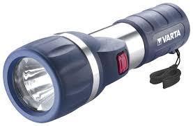 Ручной <b>фонарь VARTA 1W</b> LED DAYLIGHT 2D — купить по ...