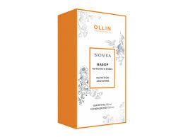 Купить <b>OLLIN BioNika</b> Питание и Блеск Набор (шампунь 250мл + ...