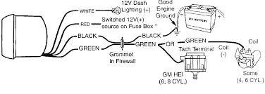 distributor wire diagram autogage4 jpg gm hei distributor wiring diagram gm auto wiring diagram schematic 868 x 310
