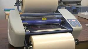 <b>PLASTI 330</b> - Reel laminator with hot rollers - YouTube