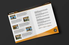 real estate brochure template pack brandpacks a3 brochure template for realtors