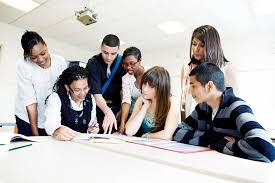 étudiants en révision