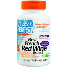 Doctor's Best, <b>Экстракт французского красного винного</b> сорта ...