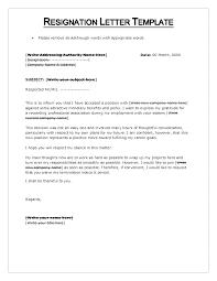 doc basic resignation letter template for word resignation letter format creative beautiful resignation letter