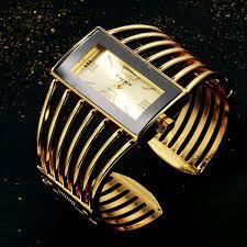 CANSNOW Womens <b>Watch Luxury Fashion Rose</b> Gold Bangle ...