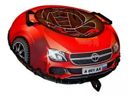 <b>Тюбинг RT Super Car</b> Mercedes 100cm Red + автокамера