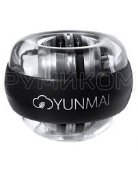 Купить <b>Кистевой тренажер Xiaomi</b> Yunmai Powerball (черный) в ...