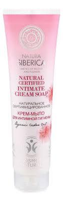 Купить <b>крем</b>-<b>мыло для интимной</b> гигиены natural certified intimate ...