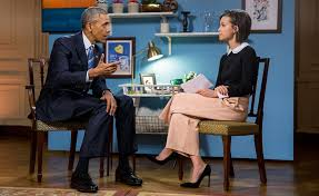 s latest interview president obama draws over one s latest interview president obama draws over one million views