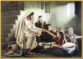 Resultado de imagen de jesus resucita a una niña