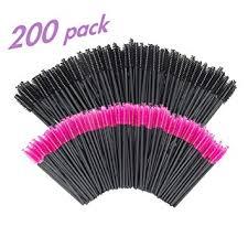 GoWorth 200 PCS Disposable <b>Eyelash</b> Mascara Brushes <b>Makeup</b>...