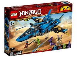 Купить <b>Конструктор Lego Ninjago Штормовой</b> истребитель Джея ...