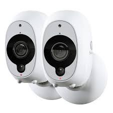 Refurbished Swann Smart Security Cameras, 2 Pack: <b>2 x 1080p</b> Full ...