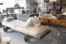 if you love industrial chic things that look like theyre from old factories schoolhouses and science labs this is a great site for inspiration chic industrial furniture