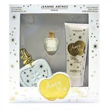 <b>JEANNE ARTHES AMORE MIO</b> WHITE PEARL EDP 100ML SET ...