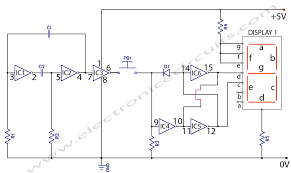 electronic coin toss circuit diagram   electronic circuitselectronic coin toss circuit diagram