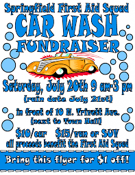 springfield first aid squad hosts car wash fundraiser springfield first aid squad hosts car wash fundraiser springfielder