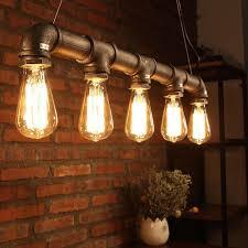 vintage ceiling lighting. industrial loft pendant vintage ceiling light diy decoration lamp e27 metal pipe lighting n