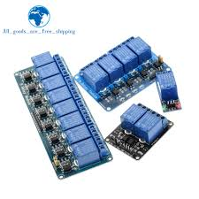 TZT 5v <b>12v 1 2 4</b> 6 8 channel relay module with optocoupler Relay ...