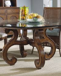 Round Glass Dining Room Table Sets Dining Room Nice Glass Top Round Dining Table For Round Glass