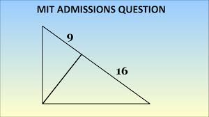 can you solve this mit admissions question geometry problem  can you solve this mit admissions question geometry problem 1869