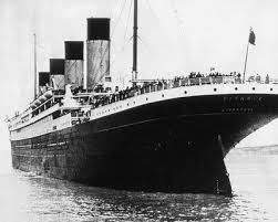 Resultado de imagen de titánica reales 1912
