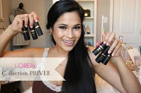 <b>L'OREAL</b> Collection <b>PRIVEE</b> Nude Lipsticks Review & Swatches ...