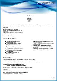 Professional New Grad RN Resume Sample | RN Resume New Grad RN Resume Sample