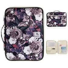Canvas Multi-functional Waterproof A4 Document <b>Bags</b> Filing ...
