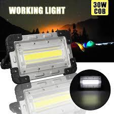 <b>30W</b> COB Rechargeable <b>LED Flood Light Portable LED Flood Light</b> ...