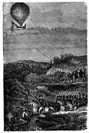 Image result for hot air balloon in war
