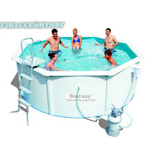 Бассейн металлический круглый 360 х 120 Hydrium <b>Pool</b> Bestway ...