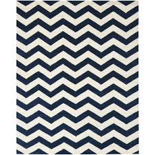 area rugs safavieh chatham dark blue or ivory chevron rug square white stripes pattern wool carpet home decor chatham home office decorator