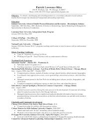 educator resume examples  tomorrowworld cohealth and physical education resume sample