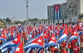 Júbilo en Cuba por el 1ero. de mayo