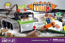 Монстр-трак <b>Crawler Destroyer</b>. <b>COBI</b> 20053.