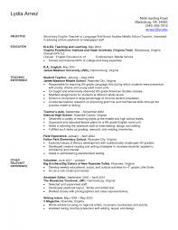 sample resume for computer teachers freshers cipanewsletter teacher teaching english resume sample volumetrics co resume
