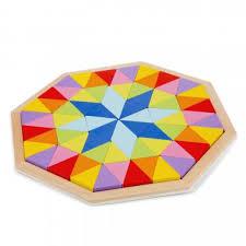 <b>Деревянная</b> головоломка-восьмиугольник <b>NEW CLASSIC TOYS</b> ...