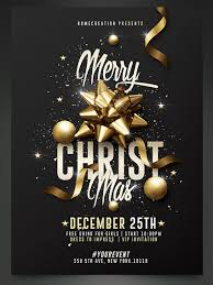 50 amazing christmas and new year s eve flyers for the holiday season classy christmas party flyer template