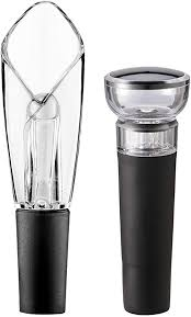 BeEcone Store <b>Vacuum</b> Stopper and <b>Wine</b> Aerator & <b>Pourer</b> ...