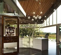 modern double cover glass ball pendant light soap bubble living room chandelier 3 head g4 20w 3 110v 120v 130v 220v 230v 240v ball pendant lighting