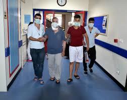 Karaciğer nakli bekleyen hastayı, oğlu kurtardı