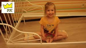 Кровать для принцессы   <b>IKEA</b> для детей   Распаковка и сборка ...