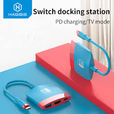 <b>Hagibis Switch Dock</b> TV Dock for Nintendo Switch <b>Portable</b> Docking ...