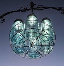 mason jar solar chandelier made with a canner rack mason jars and lights ball mason jar solar lights
